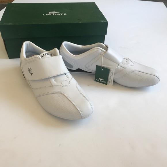 Nwt Lacrosse White Velcro Shoe Size